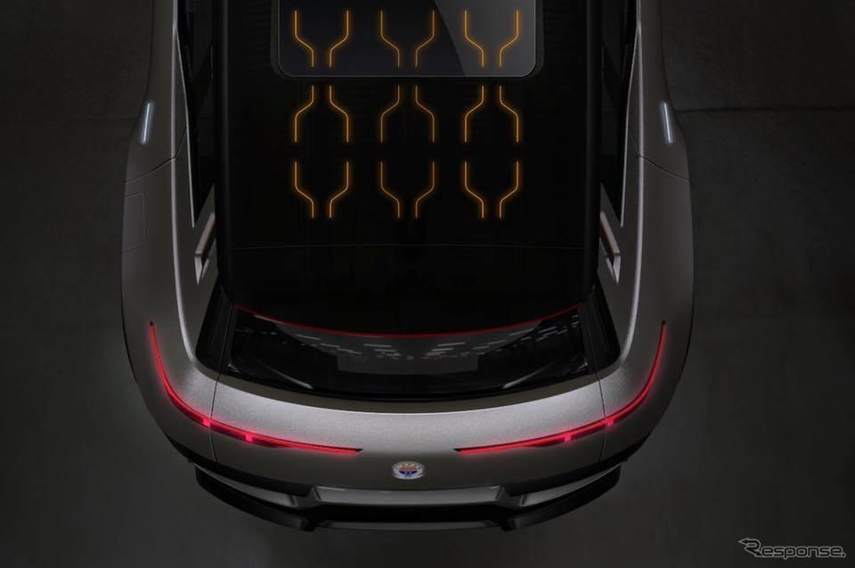 フィスカーの新型EVのティザーイメージ《photo by Fisker》