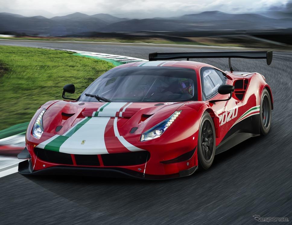 フェラーリ488GT3エボ2020《photo by Ferrari》