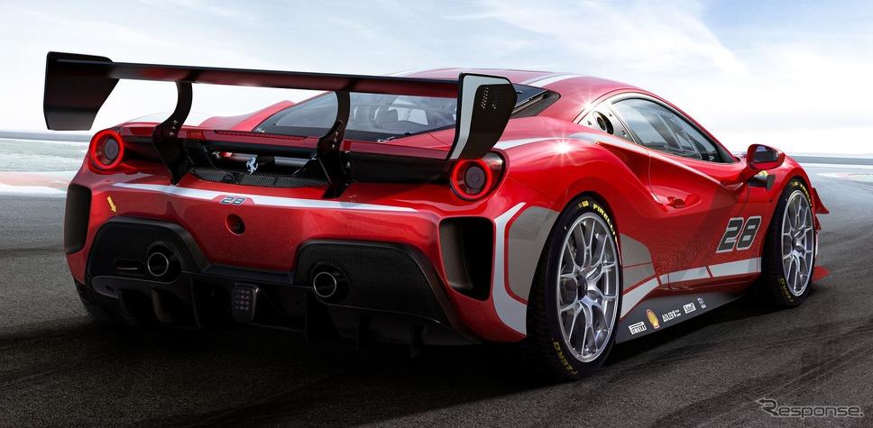 フェラーリ 488 チャレンジ・エボ《photo by Ferrari》