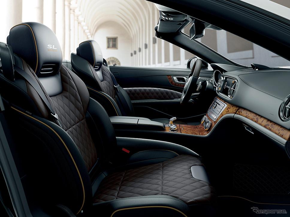 メルセデス・ベンツ SL400グランドエディション《画像:メルセデス・ベンツ日本》