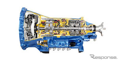 高容量FR10速オートマチックトランスミッション(参考画像)