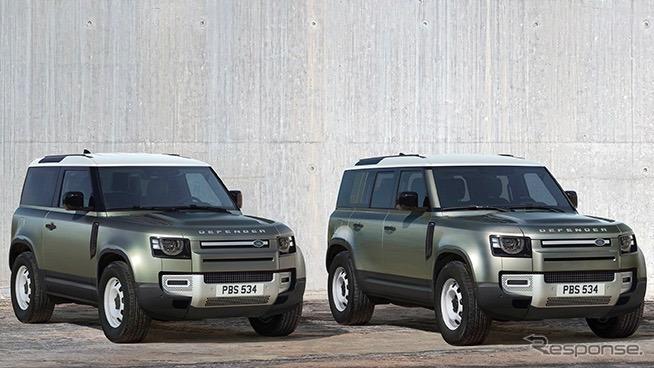 ディフェンダーLaunch Edition《photo by Land Rover》