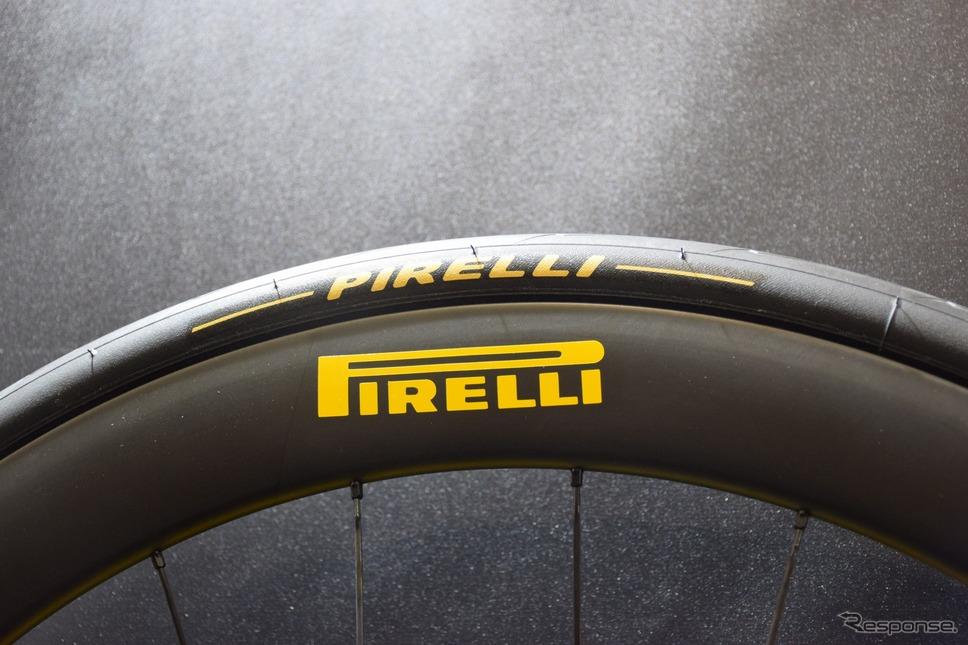 モータースポーツでは定番のピレリも自転車用タイヤを生産している。《撮影 釜田康佑》