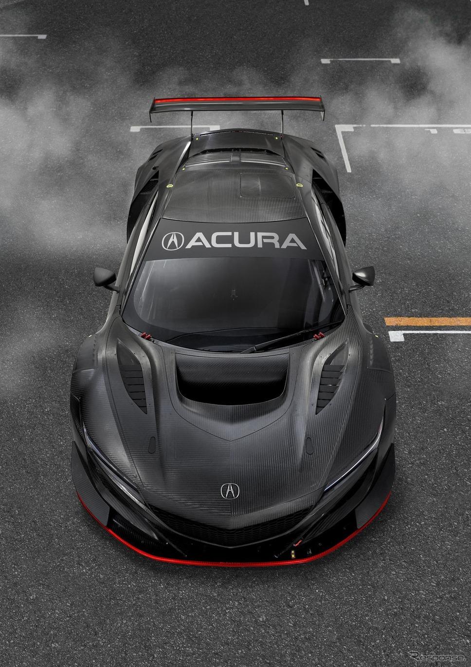 アキュラ(ホンダ)NSX GT3 エボ《photo by Acura》