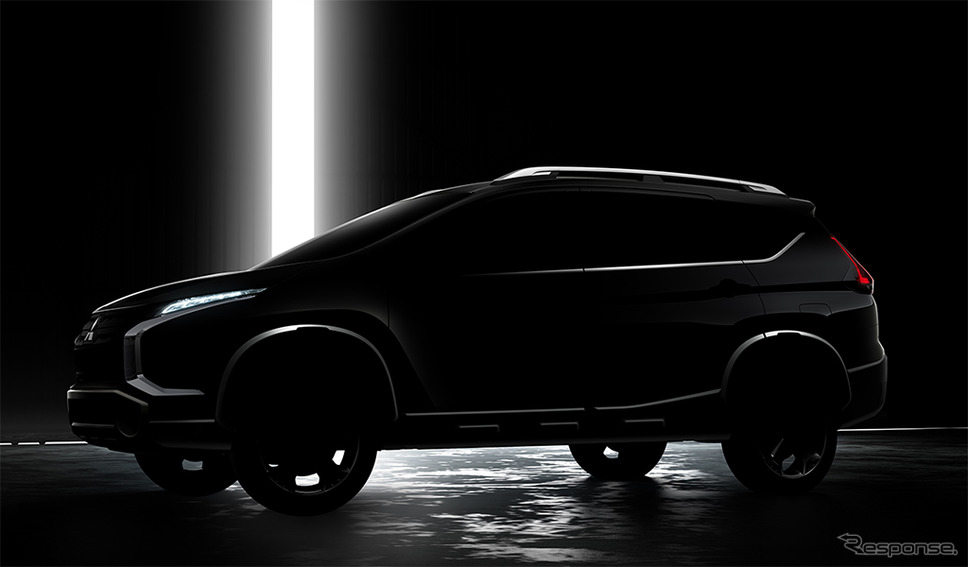 三菱自動車の新型クロスオーバーMPV(イメージ)《画像:三菱自動車》