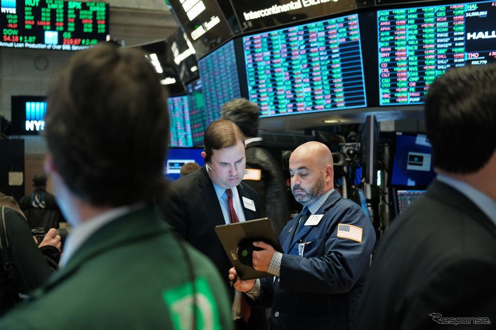 ニューヨーク証券取引所(NYSE、11月4日)《photo (c) Getty Images》