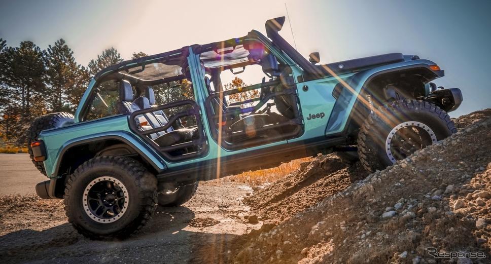 ジープ・ラングラー のカスタマイズカー《photo by Jeep》