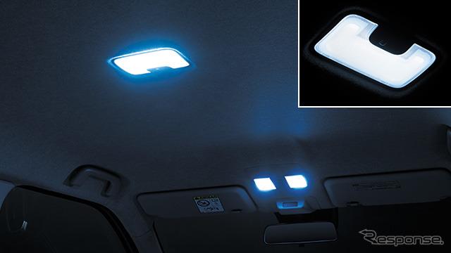 クールシャインキット LEDルームランプセット(面発光タイプ)《画像:トヨタカスタマイジング&ディベロップメント》