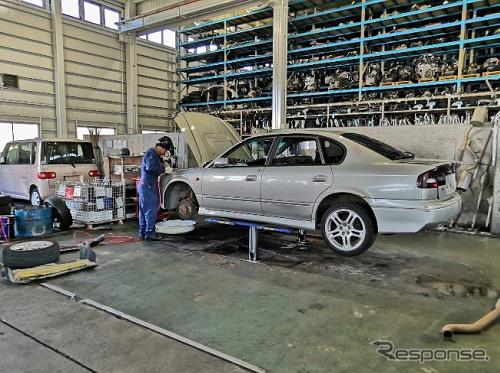 豊田通商の技術提携先である日本の自動車解体事業者(参考画像)《画像:豊田通商》