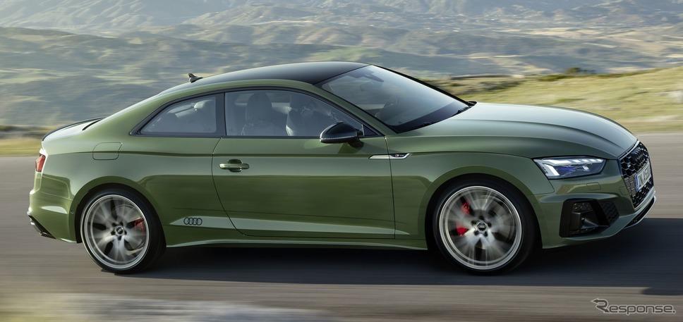 アウディ A5クーペ 改良新型のエディション1《photo by Audi》