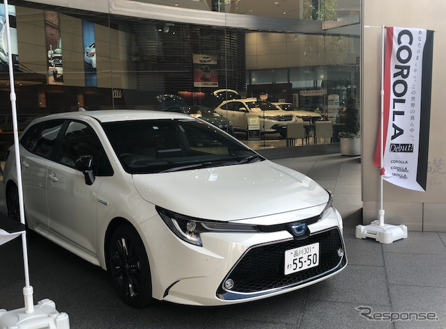 好調な受注のトヨタ カローラ 新型《撮影 藤井真治》