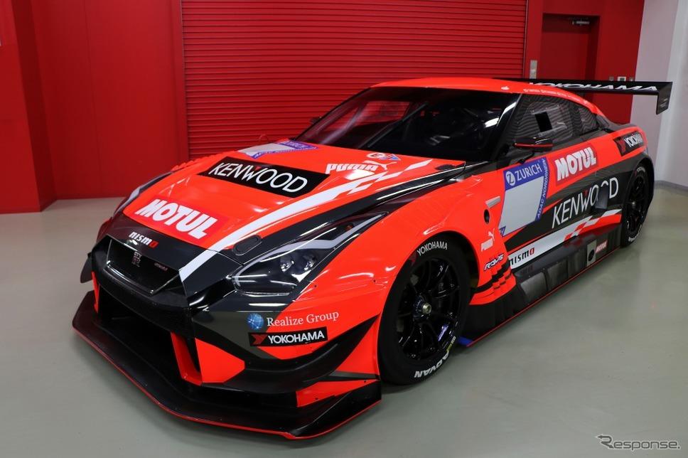 NISSAN GT-R NISMO GT3(2018年KONDO RACINGニュルブルクリンク24時間レース参戦車両)《画像:日産自動車》