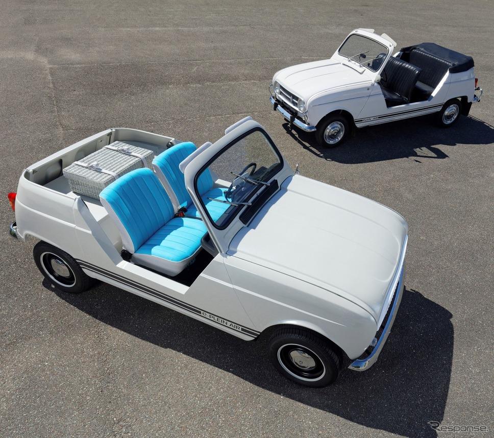 ルノー e-プレネールと ルノー4プレネール《photo by Renault》