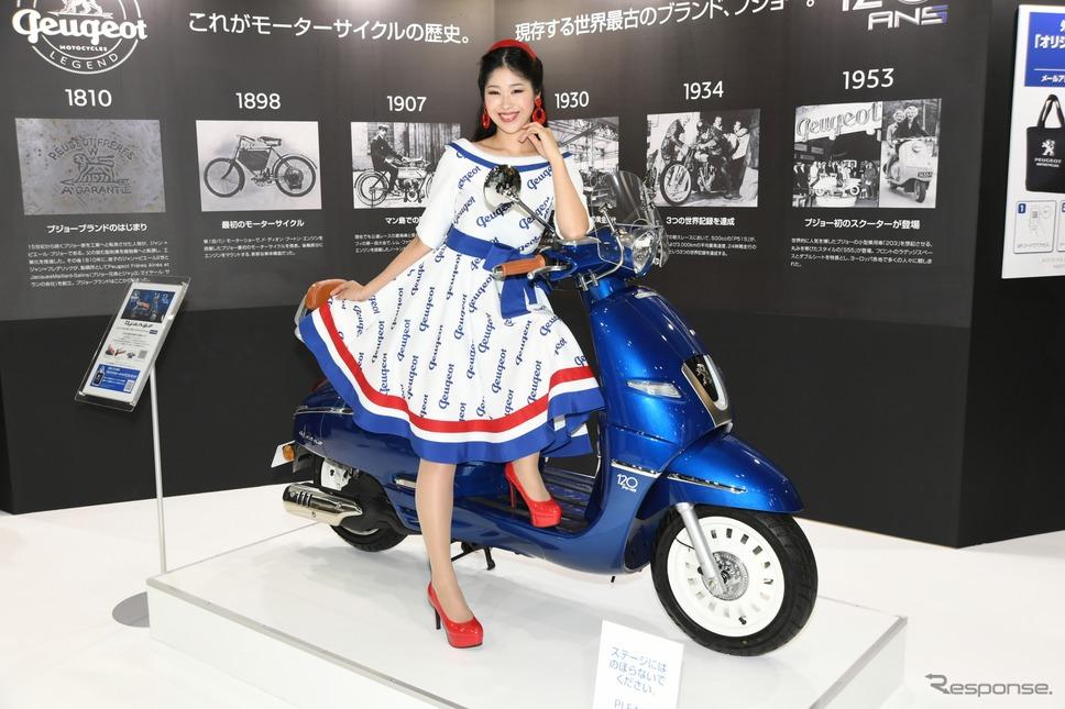プジョーモトシクル ジャンゴ125ABS 120thリミテッドエディション(東京モーターサイクルショー2019)《撮影 安藤貴史》