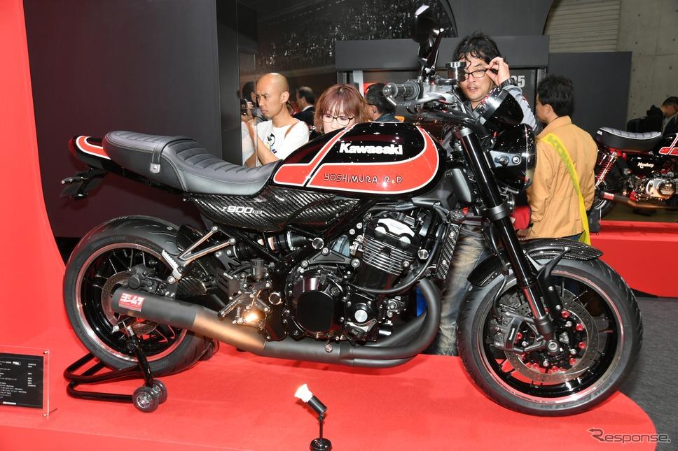 カワサキZ900RSのヨシムラカスタム(東京モーターサイクルショー2019)《撮影 安藤貴史》