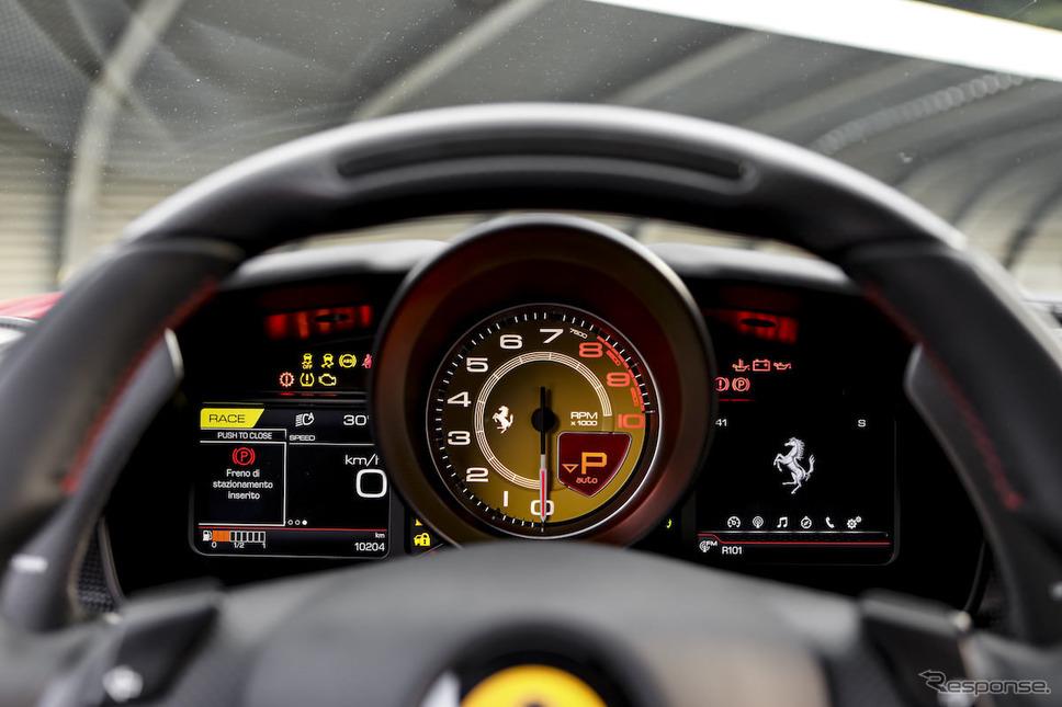 フェラーリ F8トリブート《画像 フェラーリ》