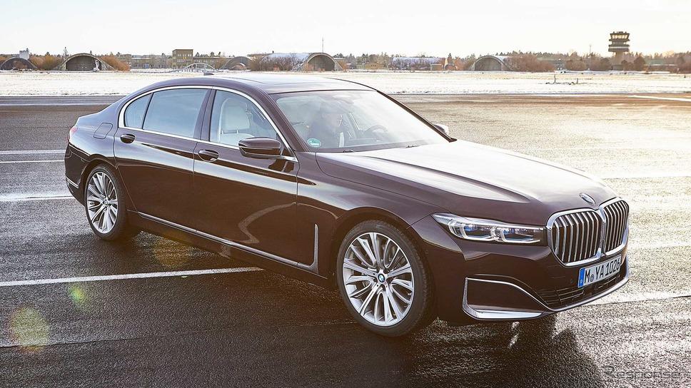 BMW 7シリーズ 改良新型のPHV、745Le《photo by BMW》