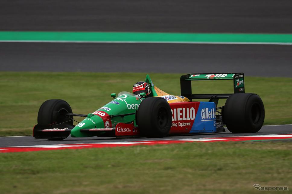 ベネトンB189(鈴鹿サウンド・オブ・エンジン2019、Legend of Formula 1出走予定)《写真 モビリティランド》