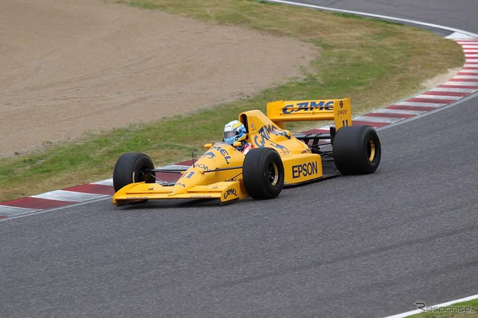 ロータス101(鈴鹿サウンド・オブ・エンジン2019、Legend of Formula 1出走予定)《写真 モビリティランド》