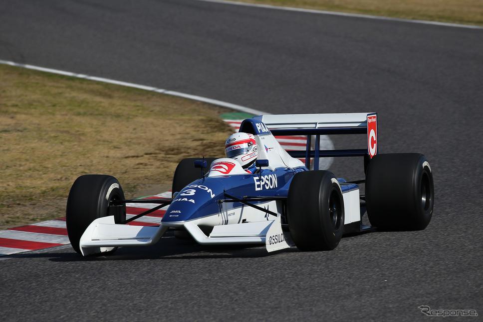 ティレル019(鈴鹿サウンド・オブ・エンジン2019、Legend of Formula 1出走予定)《写真 モビリティランド》