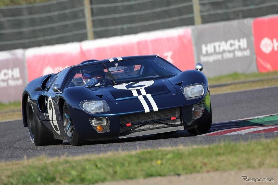 フォードGT MKIIB(鈴鹿サウンド・オブ・エンジン2019、60's Racing Cars出走予定)《写真 モビリティランド》