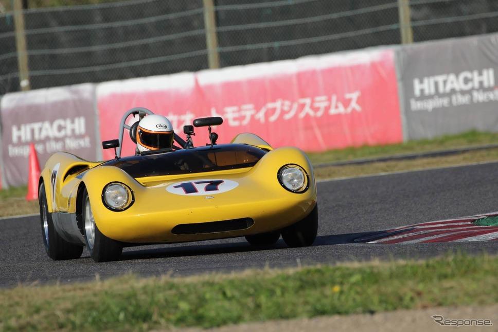 ハフェーカー・ジェニーMk-13(鈴鹿サウンド・オブ・エンジン2019、60's Racing Cars出走予定)《写真 モビリティランド》