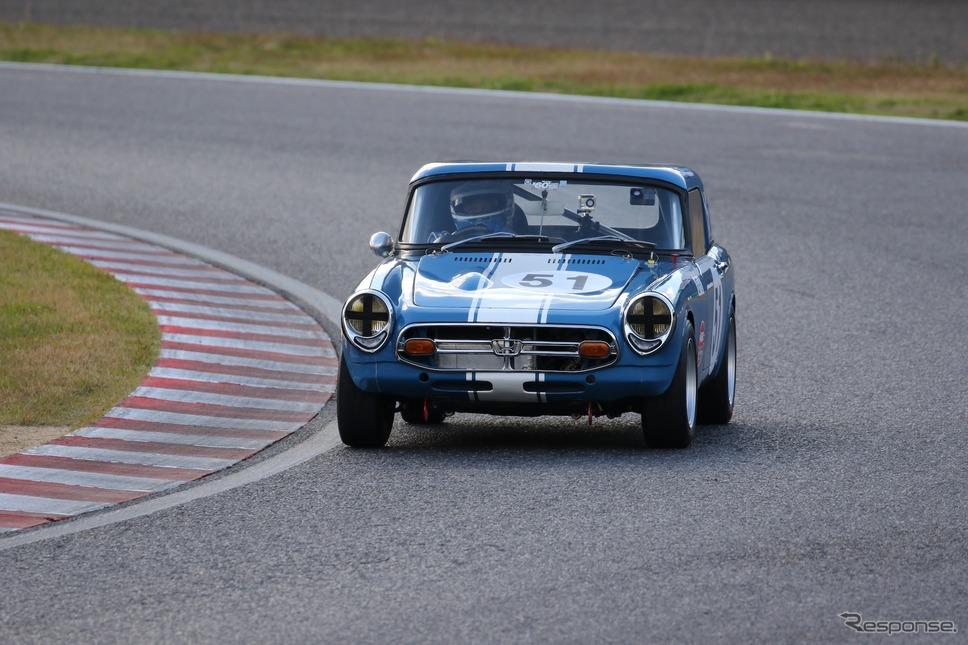 ホンダS800(鈴鹿サウンド・オブ・エンジン2019、60's Racing Cars出走予定)《写真 モビリティランド》