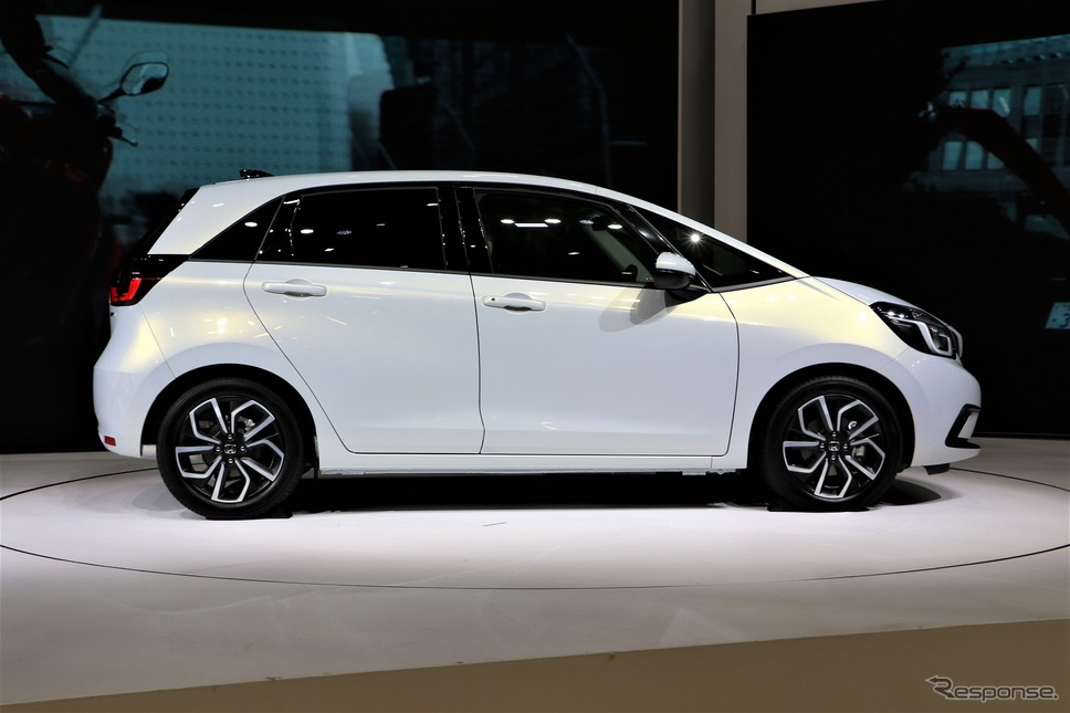 ホンダ・フィット新型(市販予定車。東京モーターショー2019)《撮影  内田千鶴子》