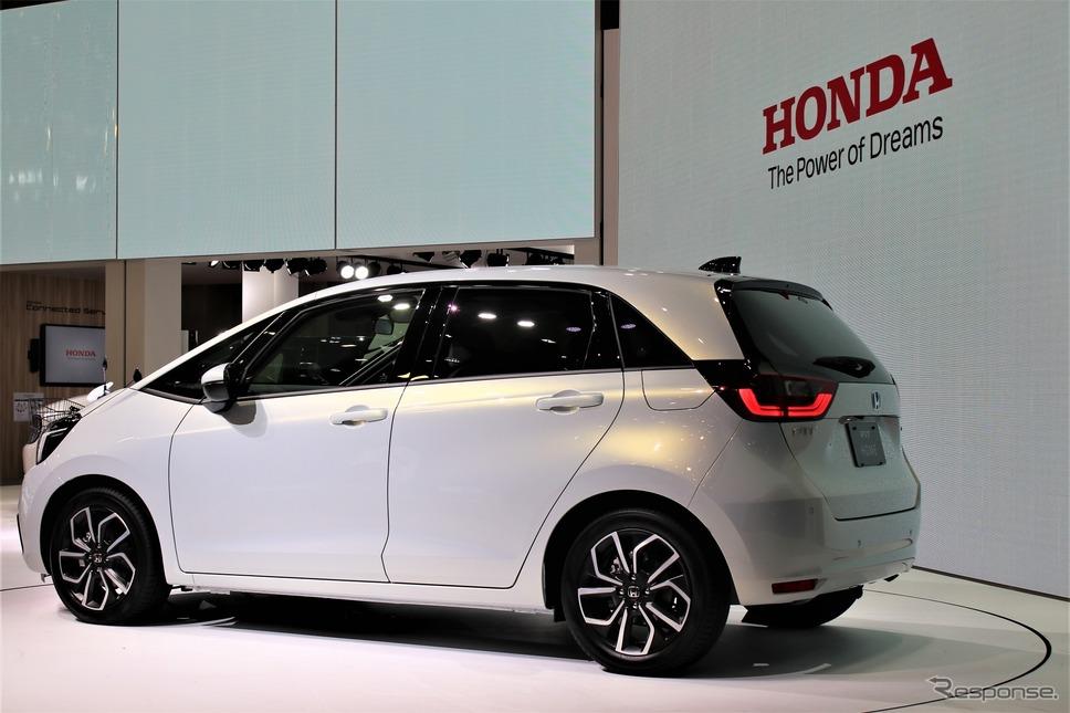 ホンダ・フィット新型(市販予定車。東京モーターショー2019)《撮影  内田俊一》