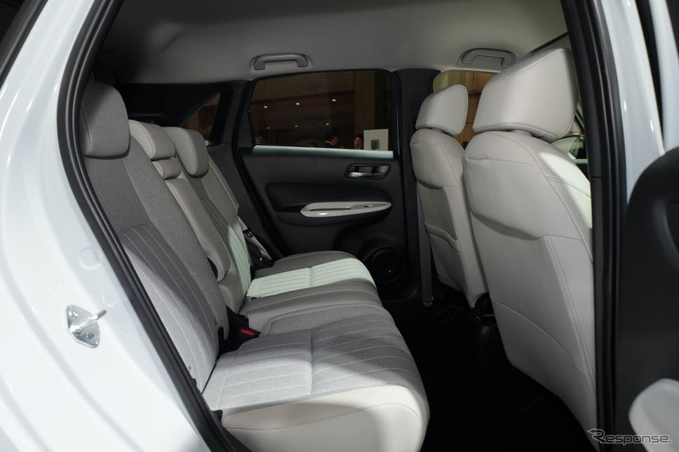 ホンダ・フィット新型(市販予定車。東京モーターショー2019)《撮影 愛甲武司》