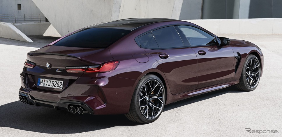 BMW M8 グランクーペ 新型《photo by BMW》