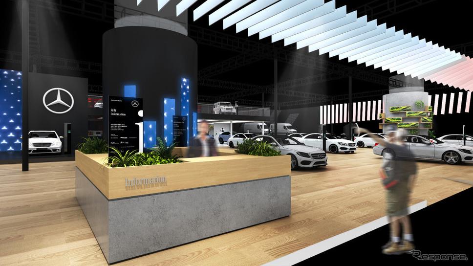 広州モーターショー2019(イメージ)《photo by Daimler》
