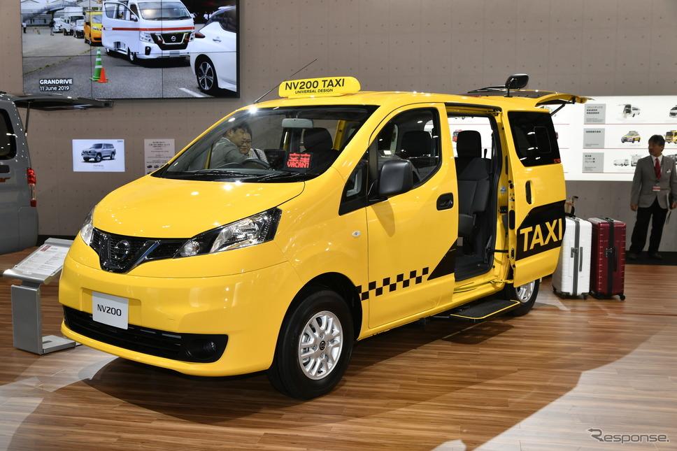 日産車体製、日産NV200タクシー(東京モーターショー2019)《撮影 雪岡直樹》