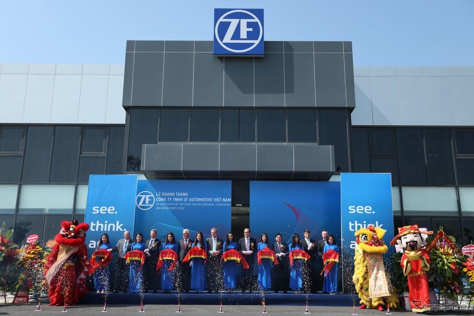 ZFのベトナム工場の開所式《photo by ZF》
