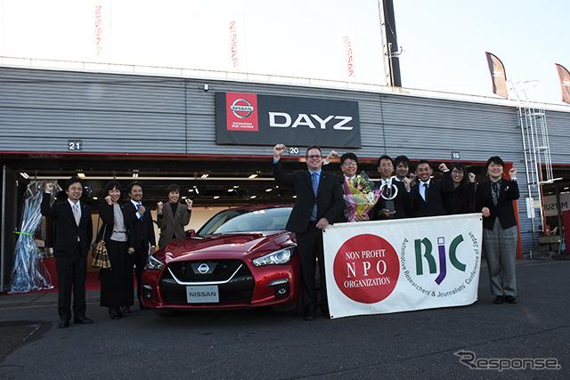 プロパイロット2.0を搭載する日産 スカイライン《画像:日本自動車研究者・ジャーナリスト会議》