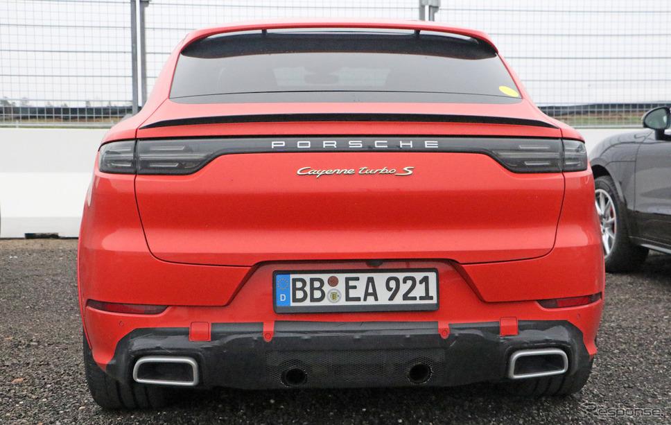 ポルシェ カイエンクーペ「GT」プロトタイプ車両(スクープ写真)《APOLLO NEWS SERVICE》
