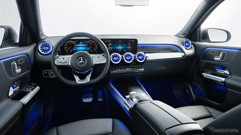 メルセデスベンツ GLB《photo by Mercedes-Benz》