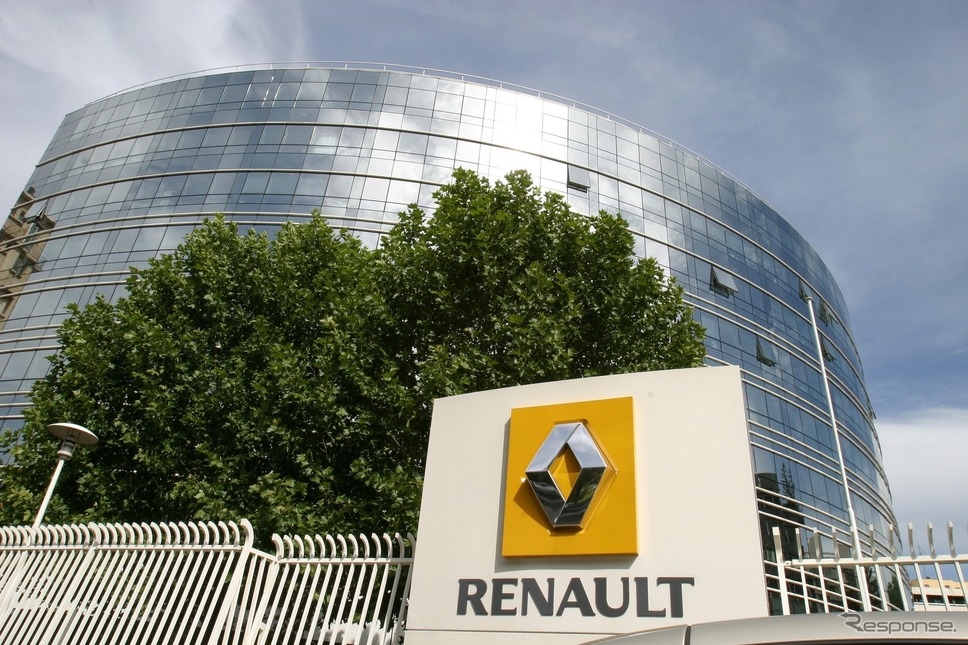 ルノーグループの本社《photo by Renault》