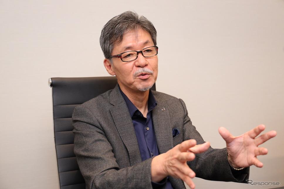 マツダ 前田育男 常務取締役(デザイン&ブランドスタイル担当)