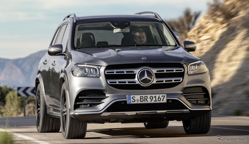 メルセデスベンツ GLS 新型《photo by Mercedes-Benz》
