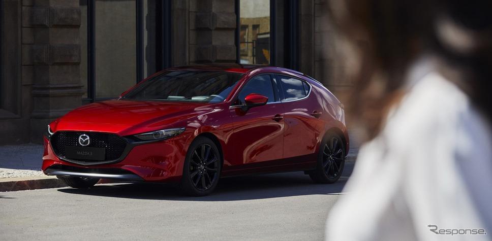 マツダ3(北米仕様)《photo by Mazda》