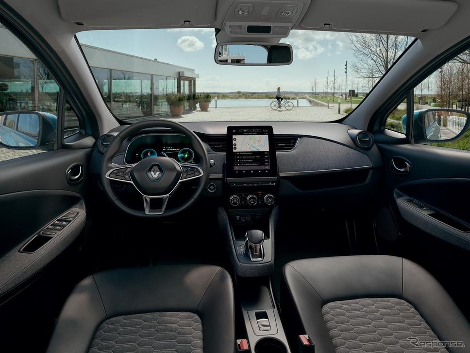 ルノー・ゾエ 新型《photo by Renault》