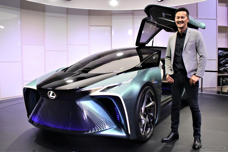 トヨタヨーロッパデザインアシスタントチーフデザイナーの飯田秀明さん《撮影  内田俊一》