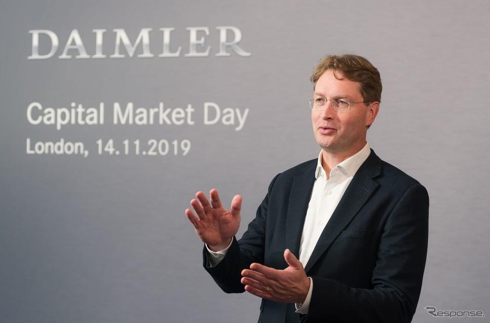 ダイムラーのオラ・ケレニウス会長《photo by Daimler》