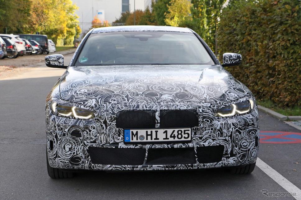 BMW 4シリーズクーペ 次期型プロトタイプ(スクープ写真)《APOLLO NEWS SERVICE》