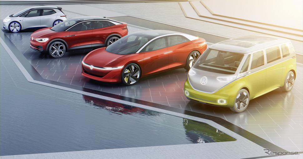 VWグループの次世代EV「ID.」ファミリー《photo by VW》