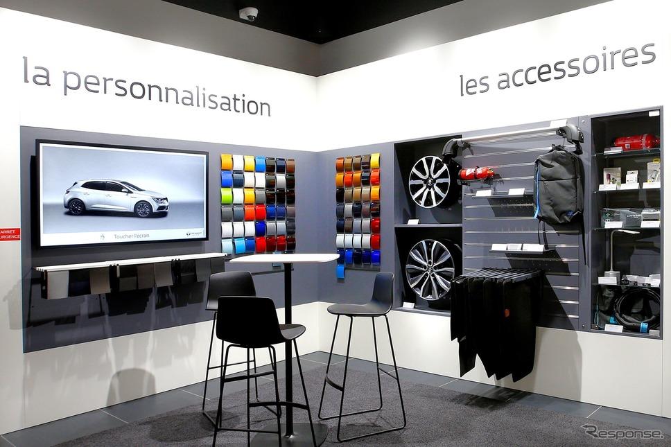 フランスに開設された「ルノー・シティ」の第一号店《photo by Renault》