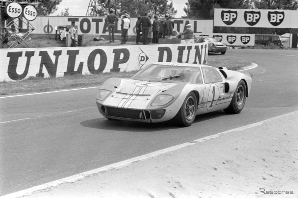 1966年ルマン、マイルズ&デニー・ハルム車《photo by Getty Images》