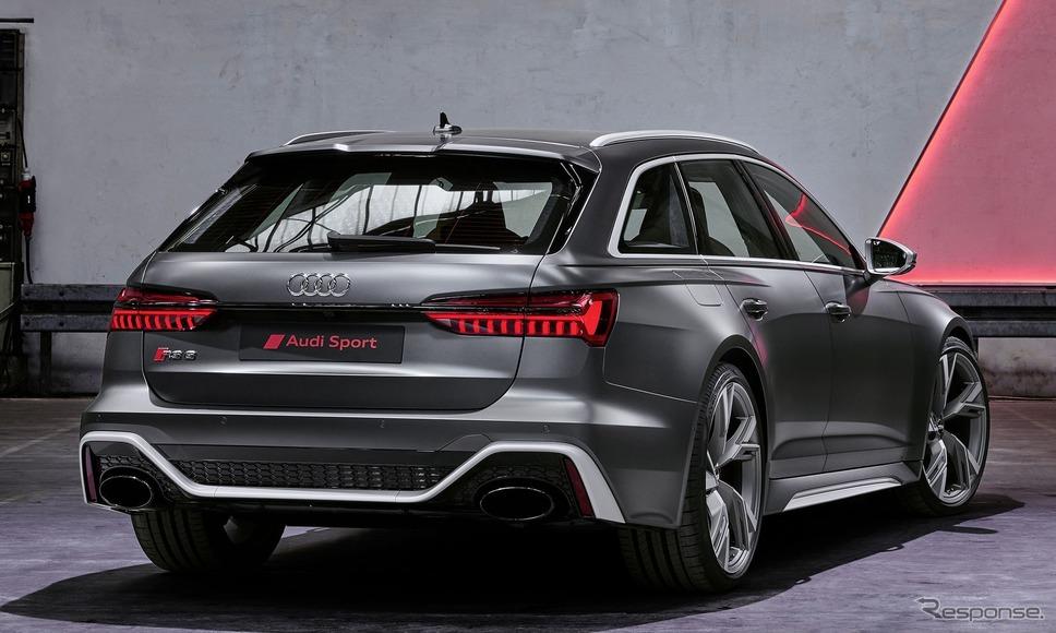 アウディ RS6 アバント新型《photo by Audi》