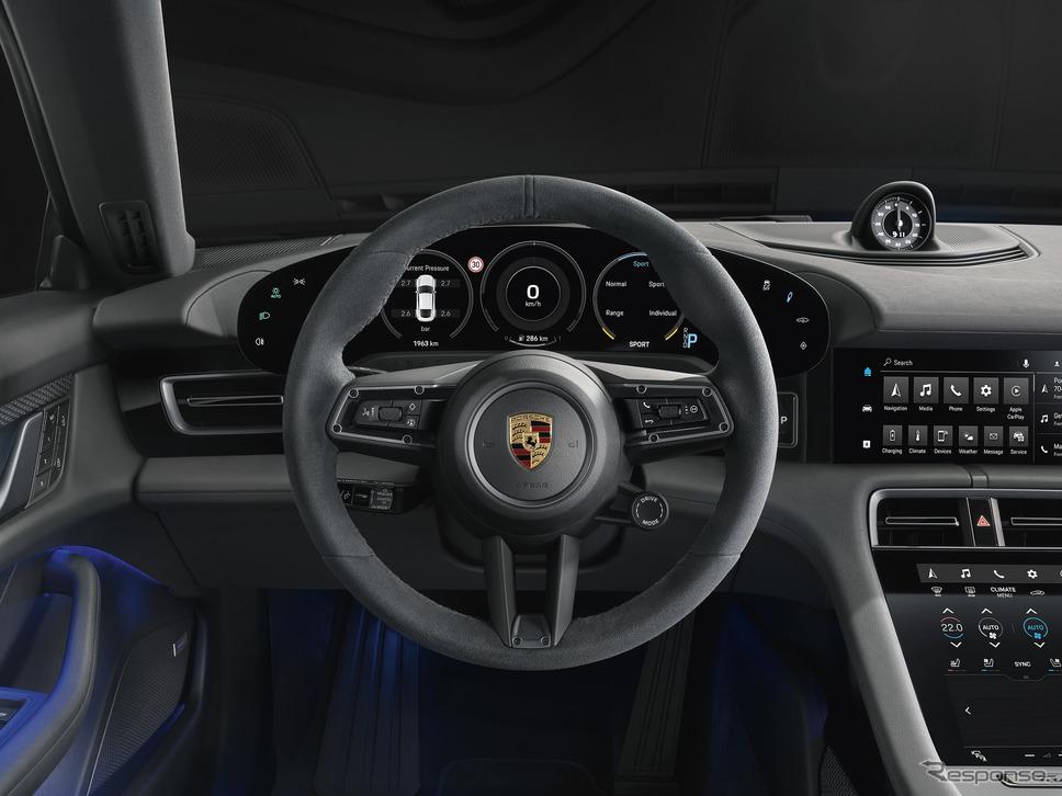 ポルシェ・タイカン 4S《photo by Porsche》